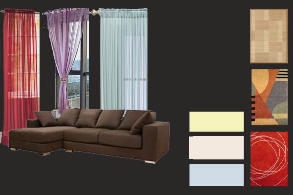 Dark brown furniture combo home decoration ideas for Brown colors for walls