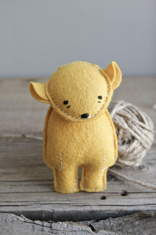 pocket bear // xinnia by ohalbatross on Etsy