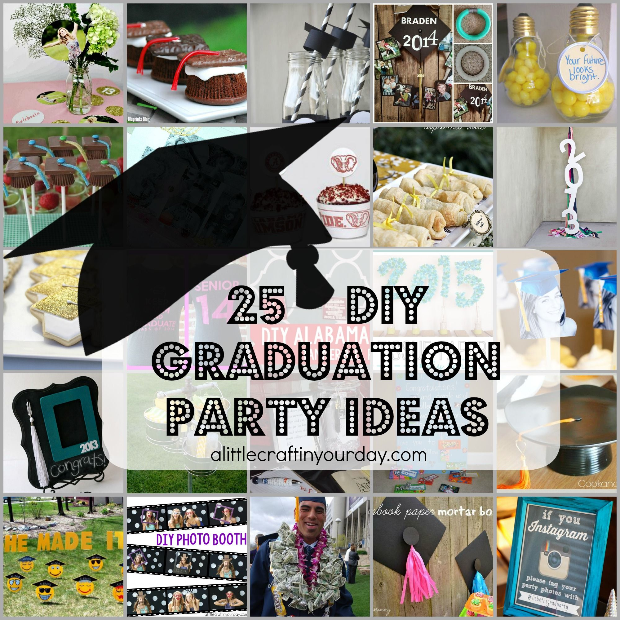 Home Design Ideas For Seniors: 25 DIY Graduation Party Ideas
