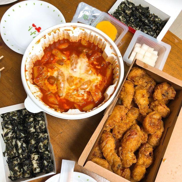 Korea Fast Food In 2020 Aesthetic Food Food Real Food Recipes
