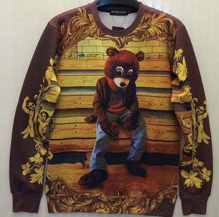 Kanye College Dropout Crewneck Clothing Pinterest Hoodies
