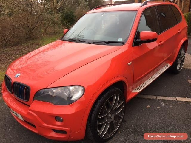 2008 Bmw X5 E70 3 0d Ac Auto Ferrari Red 3 Owners Low