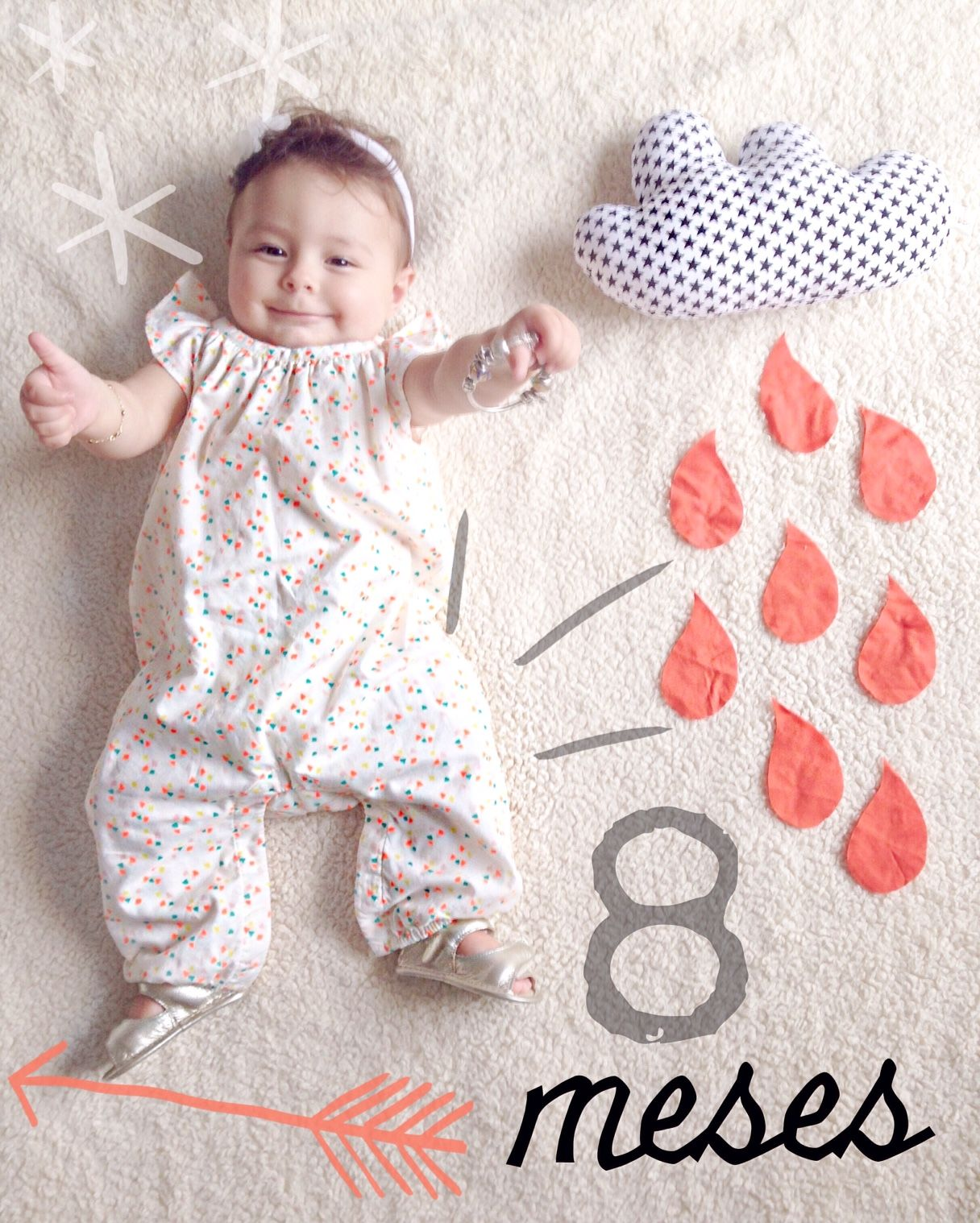 8 Meses De Amelie Photo Trends Pinterest Baby Girl Photography