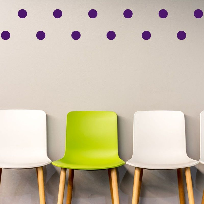 Violet Polka Dot Wall Decals & Violet Polka Dot Wall Decals | Our Product | Pinterest | Dots Polka ...