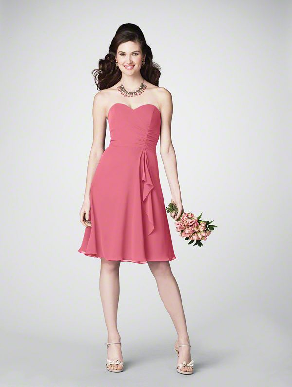 Moh Dress 7176 In Petunia Alfred Angelo Destination