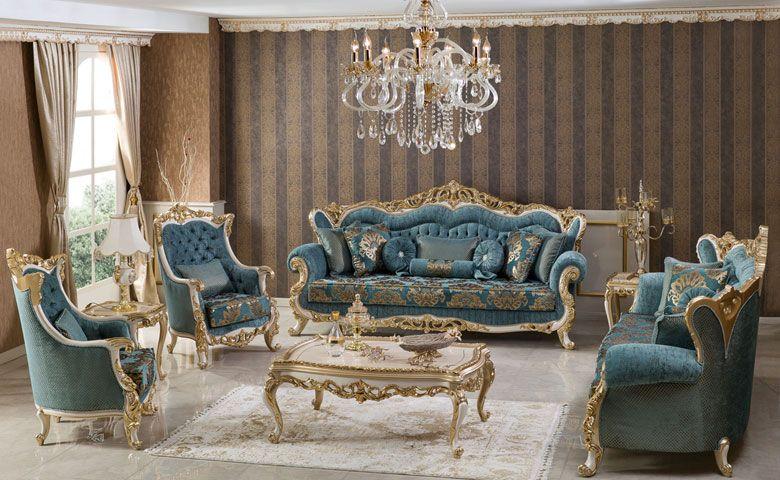 Luxury Clic Sofa Sets And Avant Garde Models