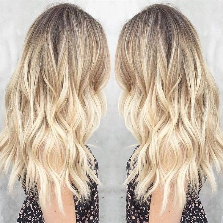 Sunkissed Sparkle By Msmorganashley Blonde Balayage Ombre