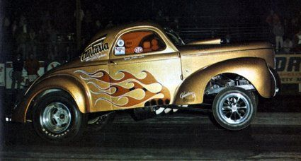 "Bill Henderson's 1940 ""Fantasia"" Willys."