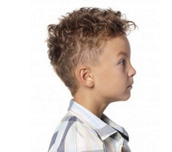 Curly Boy Haircut In 2019 Boys Curly Haircuts Kids Little