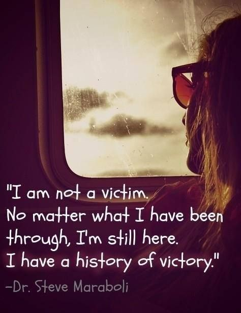 I M Not A Victim No Matter What I Have Been Through I M Still