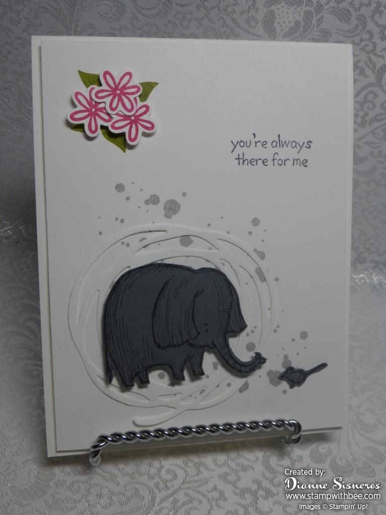 """Love You Lots along with Swirly Bird are the two sets I used to make this cute card. All sets available June 1st…. """"Like"""" my Stampin'Up! Facebook Page"""