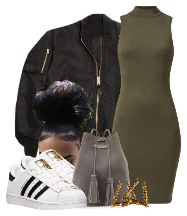 """""""Untitled #626"""" by b-elkstone ❤ liked on Polyvore featuring adidas and Tom Ford"""