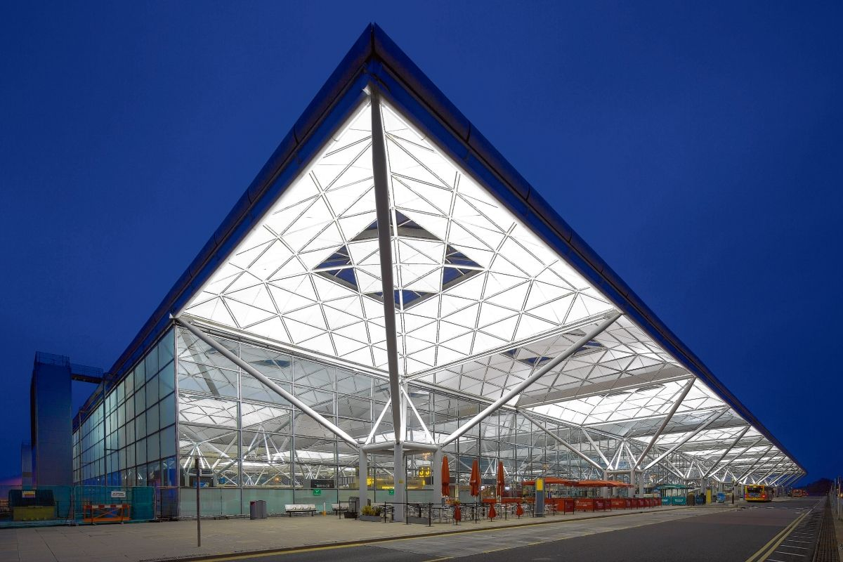 1991 London Stansted Airport Stansted Norman Foster