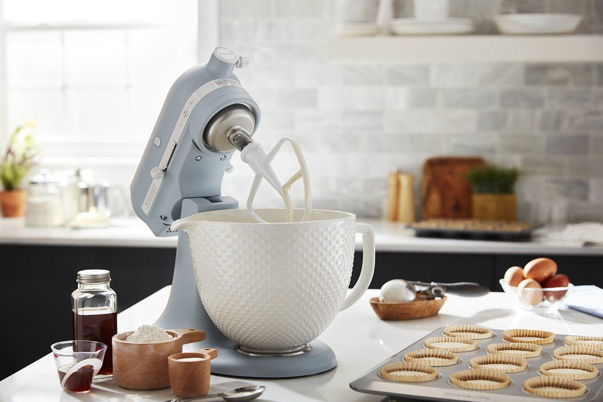 Kitchenaid just launched a new vintageinspired mixer