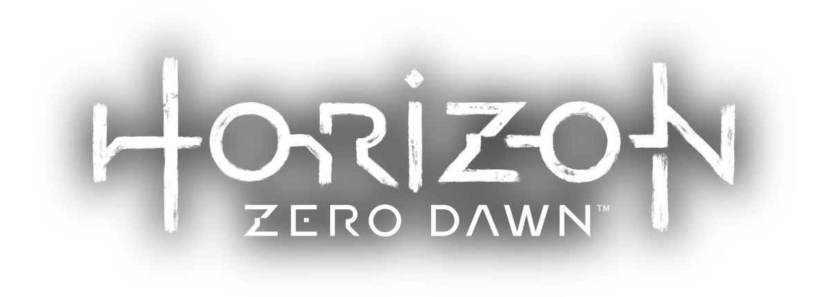 「Horizon Zero Dawn logo」の画像検索結果 Word design, Game logo