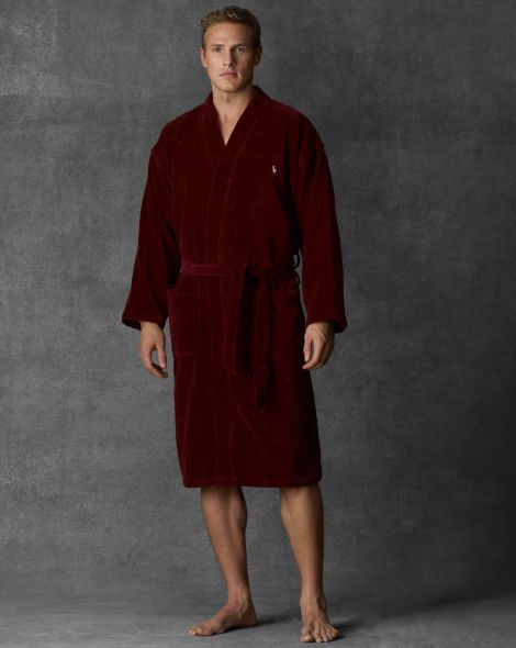 Terry Kimono Robe - Polo Ralph Lauren Sleepwear - RalphLauren.com ... 8f4731099