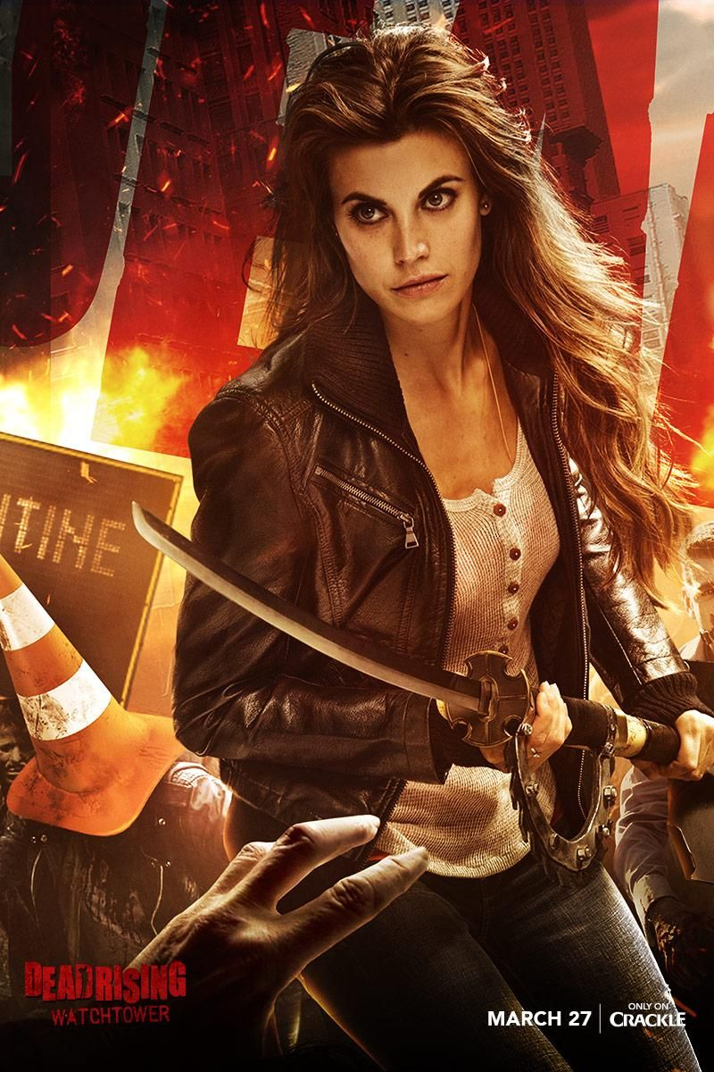 Dead rising movies on meghan ory dead rising watchtower