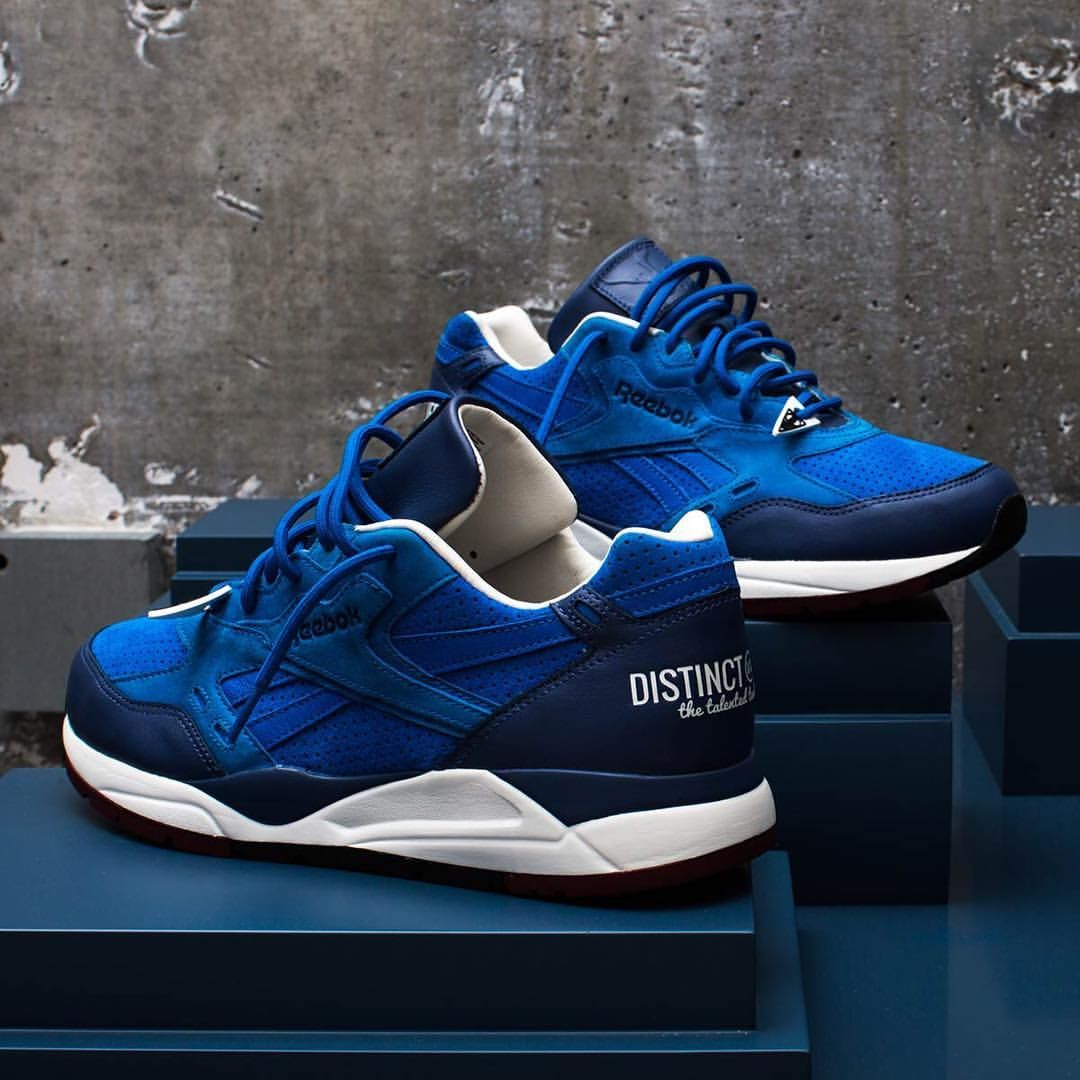 Sneaker News On Instagram The Reebok Bolton Reimagined By The Distinct Life Inspired By Photography The Blue Colorway Is A Sneakers Sneakers Fashion Shoes