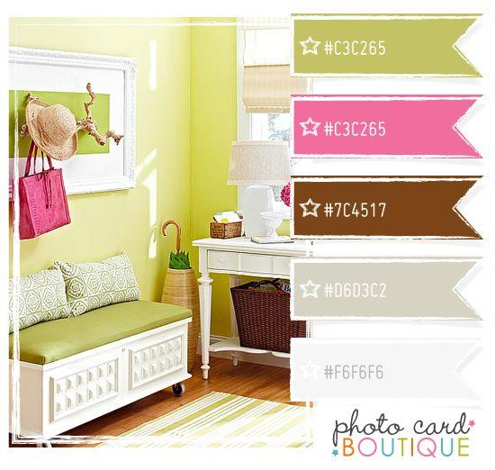 Colour palette from photocardboutique.blogspot.com.au (image ...