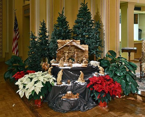 church christmas decorating ideas - Christmas Church Decorations