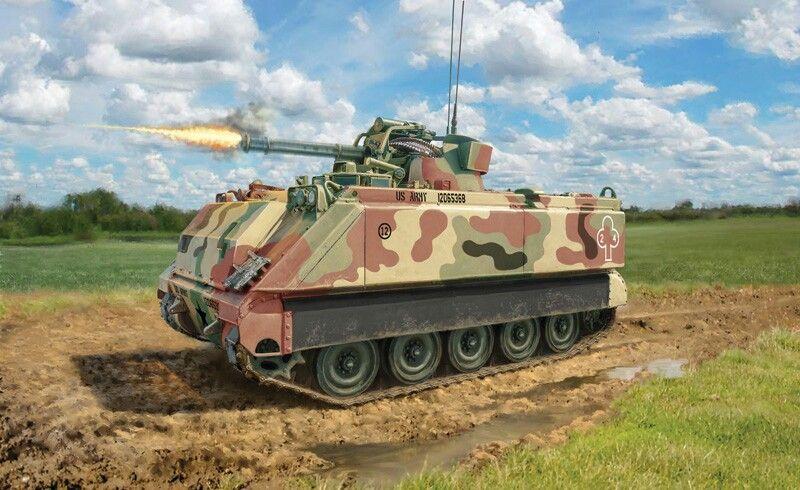Us M 113 Base M 163 Vads Vulcan Air Defense System Spaag Combat