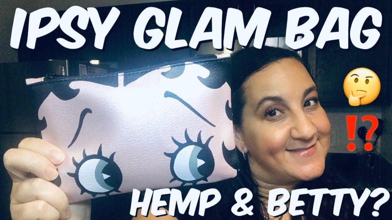 IPSY GLAM BAG OCTOBER 2019 I IPSY UNBOXING ⭐️BETTY BOOP