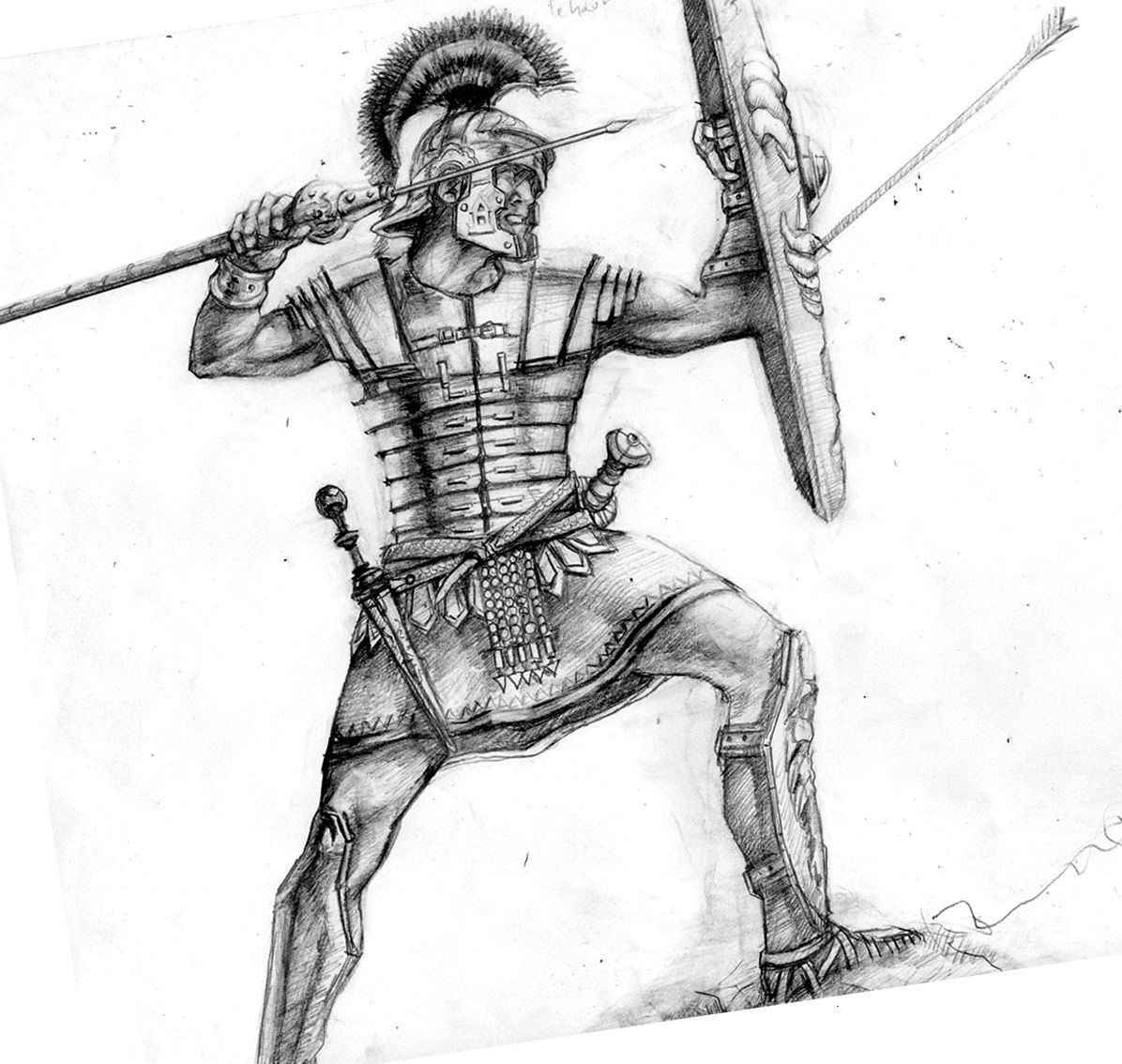 Armor of god artwork the armour of god in ephesians 6 for Italian warrior tattoos