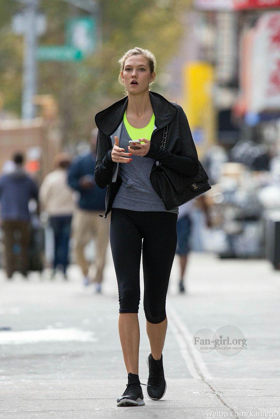 Karlie kloss Nike workout ウェア, トレーニングウェア, トレーニング
