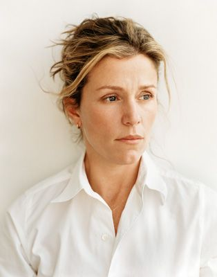 Frances McDormand. For SOME reason.... I'm in love with Frances McDormand. It's not a physical thing but I just love her. I love the characters she plays. I just adore her. I'm attracted to her whole being!