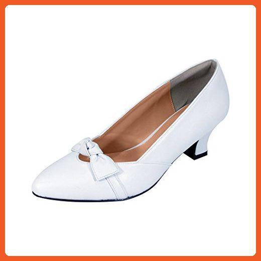 Extra Wide Width Dress Pump WHITE