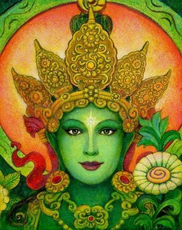 tara hindu deity pictures of green tara art print poster goddess