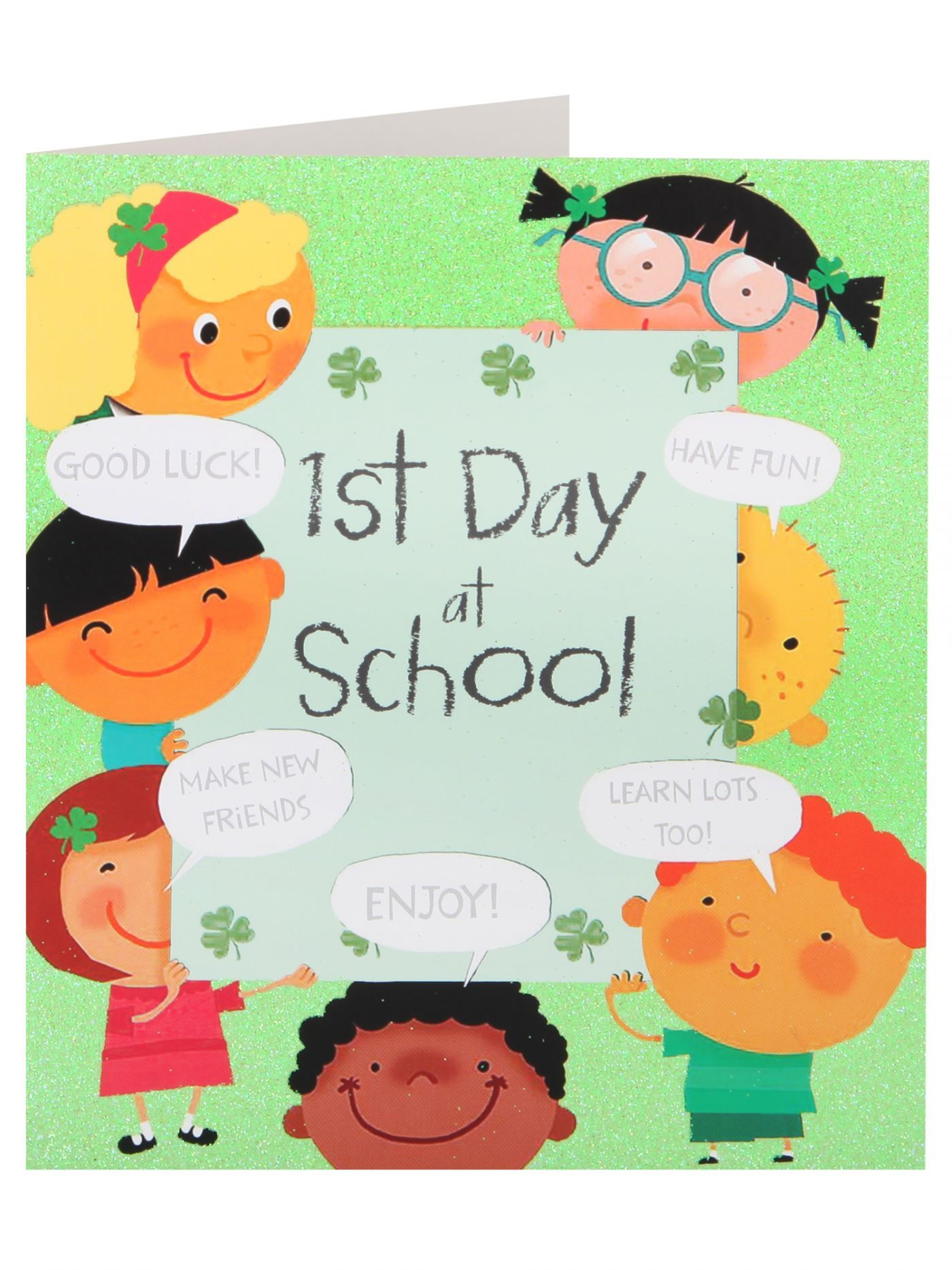 Good Luck 1st Day At School Card Sale Clintons 06THANK YOU