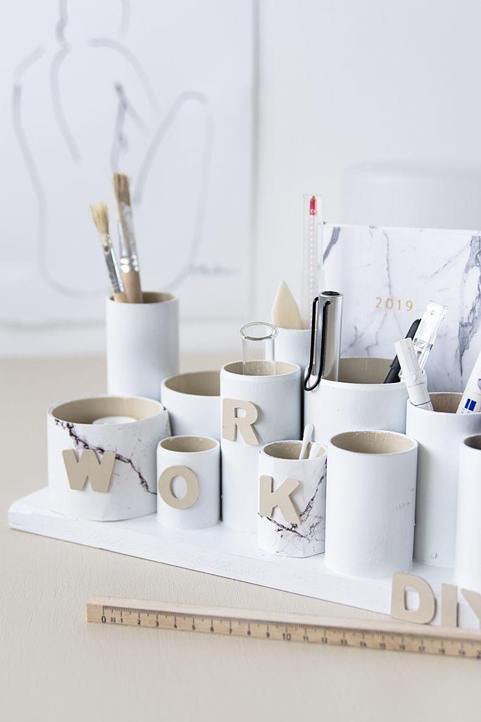 Photo of DIY | Praktisches Kreativ-Utensilo für den Schreibtisch – Sinnenrausch – Der kreative DIY Blog für Wohnsinnige und Selbermacher