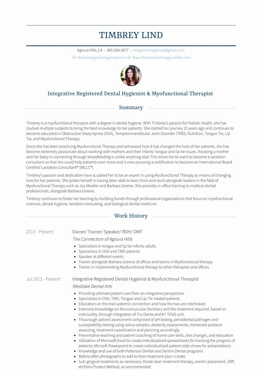 45+ Dental hygienist resume samples ideas in 2021