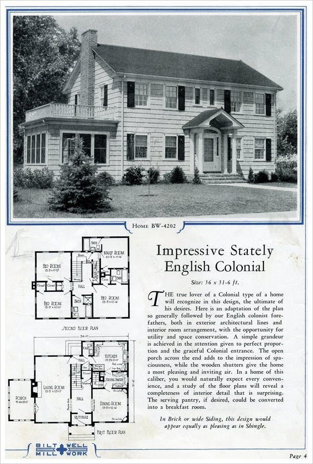 Aaaa222 Jpg Image Colonial House Plans Colonial House Vintage House Plans
