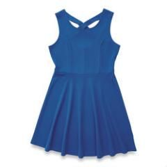 lily morgan Women's Solid Skater Dress