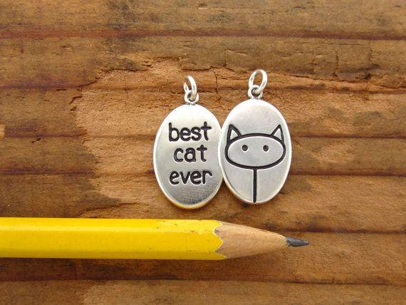 Cat Necklace - Best Cat Ever Necklace