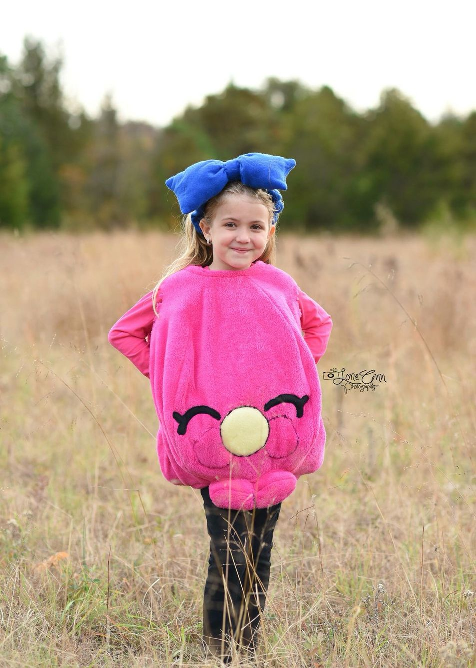 Shopkins costume/ shopkins/ photography/ shopkins party.