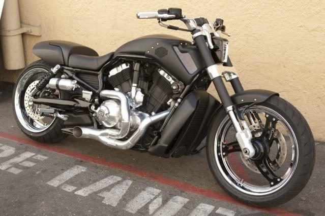 Custom Harley Davidson V Rod Muscle 2011 By Kato In The Green