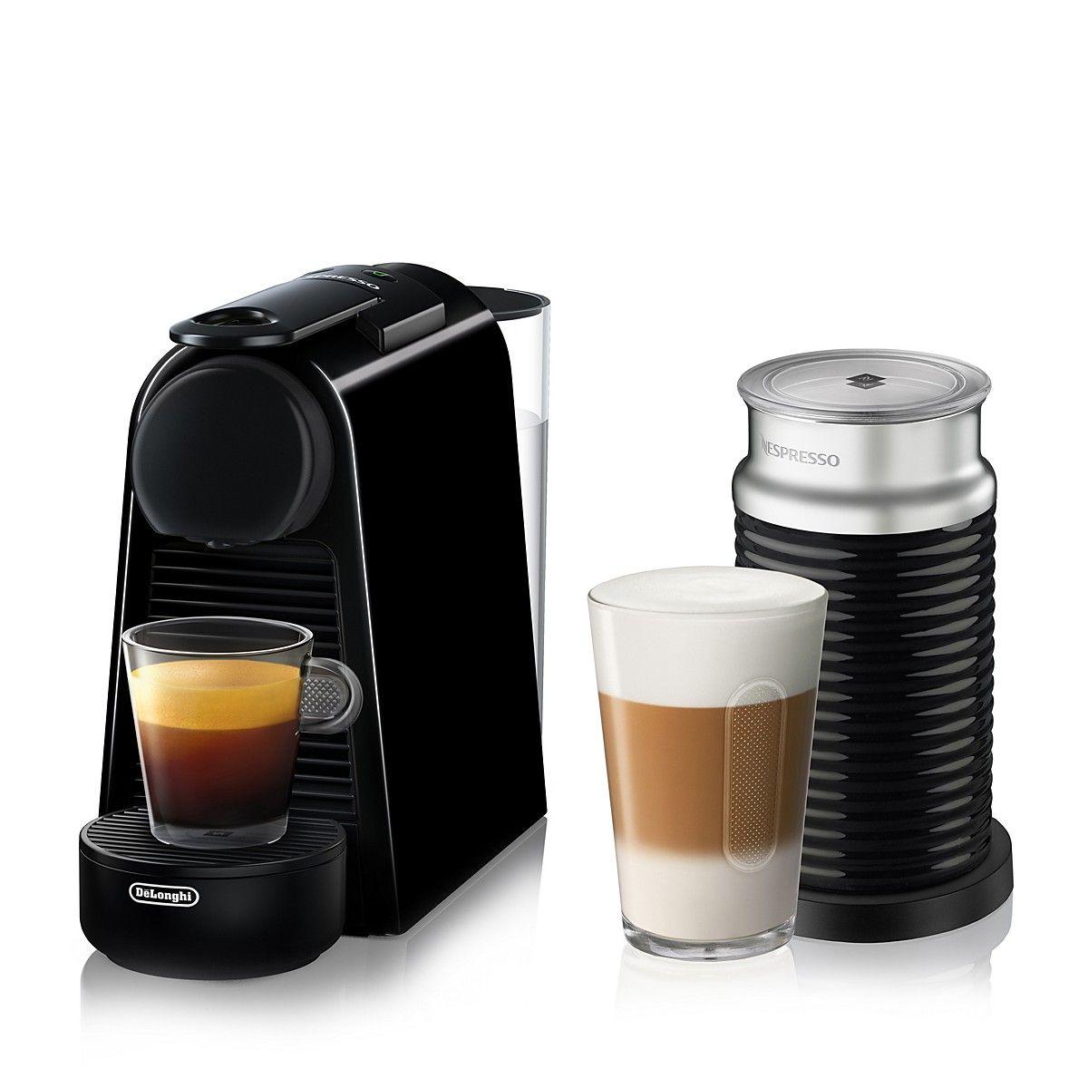 Essenza Mini Espresso Machine By De Longhi With Aeroccino Milk