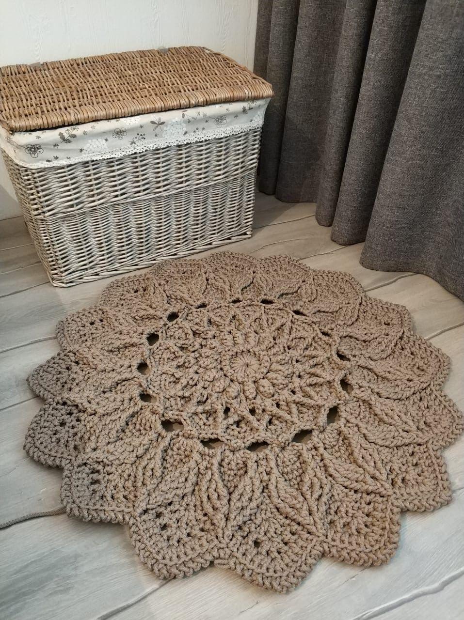 Video Tutorial Crocheting Rug Elven Patterns Etsy In 2020 Rug Pattern Crochet Rug Patterns Rag Rug Tutorial