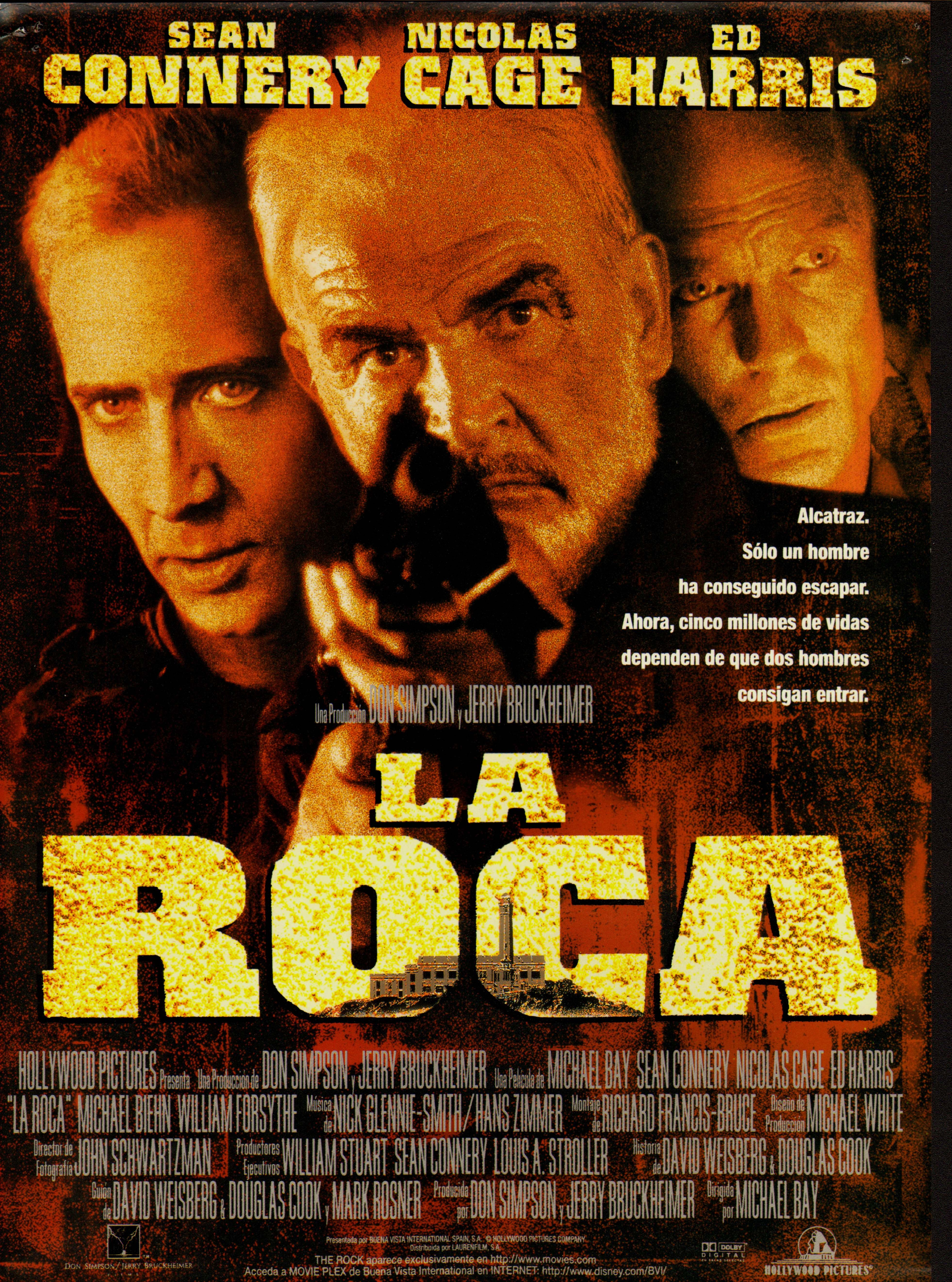Cartel Español de La roca