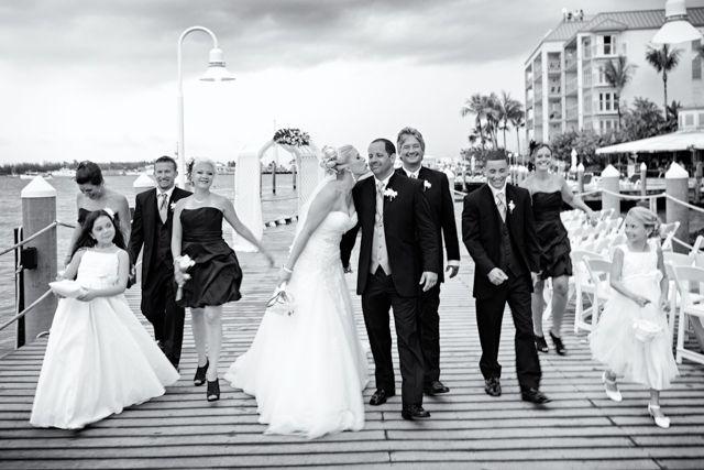 Hyatt Key West wedding party | #JHunterPhoto