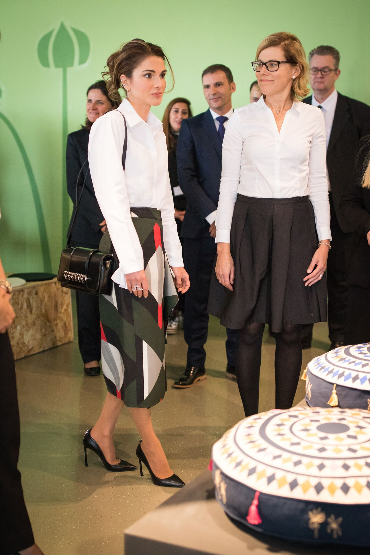 The Hashemites Queen Rania Ikea Jordan Royal Fashion