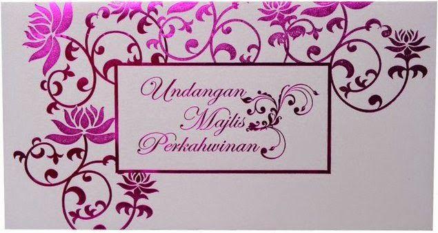 Jomumum Pelbagai Moden Kad Kahwin Dengan Design Yang Unik Wedding Cards Kad Kahwin Design