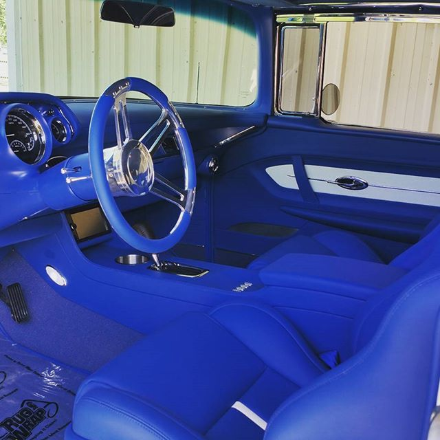 Blake Byers Blairs Garage I Love That Blue Instagram Photo Websta Custom Car Interior Custom Center Console Car Interior