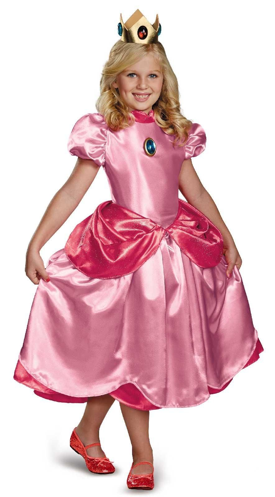 Super Mario Brothers Deluxe Princess Peach Costume from Buycostumes ...