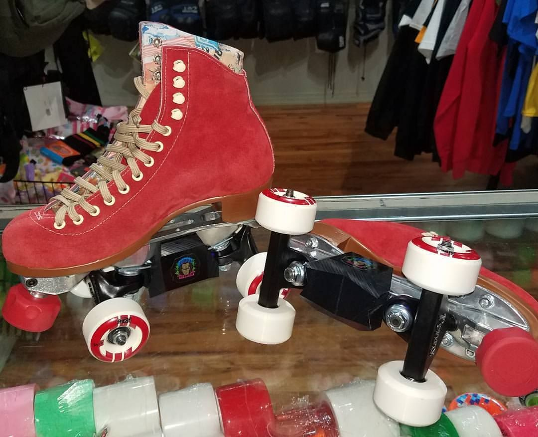 9d0f75b608eb A Skate Park set up using Moxi Lolly boots