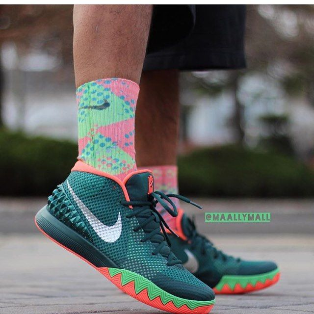 reputable site b2d1e 6f3d8 Kyrie 1 Flytrap Custom Nike Elites and Elite Versatility Socks ONLY at  SneakerWork.com  maallymall with the