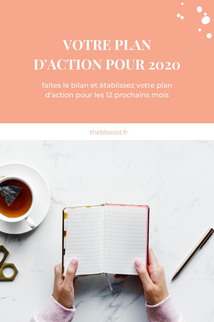 Faire son plan d'action pour 2020 La méthode pas-à-pas pour établir votre plan d'action pour 202